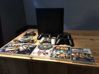 Sony Playstation 3 PS3 Slim 160GB / 4 Manettes / 6 jeux