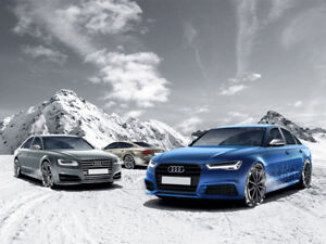 AUDI WINTER WHEEL PACKAGES KIT DE JANTES D'HIVER AUDI