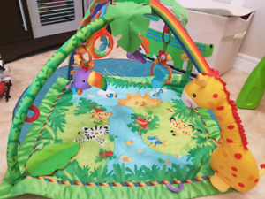 Fisher Price sight and sounds activity mat
