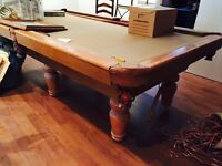 High end pool table for sale asap 2600$ wow