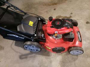 New lawnmower powerstart 196cc