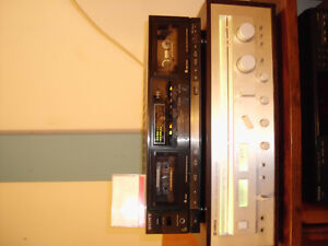 SPEAKERS WITH VINTAGE YAMAHA RECEIVER