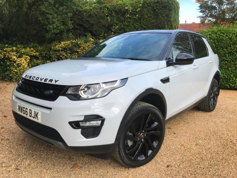 2017 land rover discovery sport 2 0 td4 4x4 hse luxury black pack 7 seats in nottingham. Black Bedroom Furniture Sets. Home Design Ideas