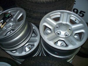 new 2012 jeep steel wheels with center cap from  wrangler