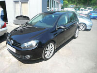 2009 09 Reg Volkswagen Golf 2.0TDI GT 140 BHP ONLY 51K FSH SHOWROOM CONDITION