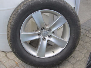Tires and Alloy Wheels
