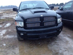 Sport Front Bumper and Grille for Early 3rd Gen Dodge 02-05