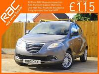 2013 Chrysler Ypsilon 1.2 SE 5 Door 5 Speed Air Conditioning Alloys Only 30,000