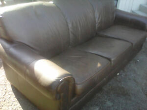 Lazy-Boy Sofa hide a bed, leather