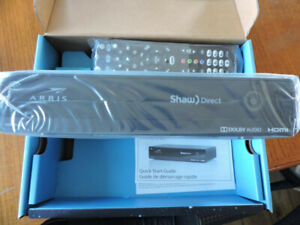 Shaw Direct TV satellite receiver HD PVR830 with remote
