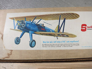 RC Airplane Sterling models Stearman PT 17