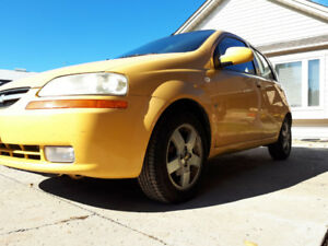 2007 Chevy Aveo For Sale As Is, Only 128,000km!!