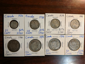 Canadian Silver Coin   Kijiji in St  Catharines  - Buy, Sell