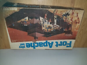 Old Fort Apache playset by Marx toy company