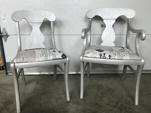 2 Newly Reclaimed Chairs