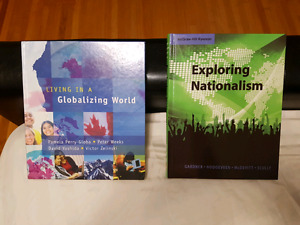 2 Social Textbooks - Great Condition!