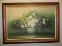 Painting, canvas,  signed,  great condition   31 x 43""