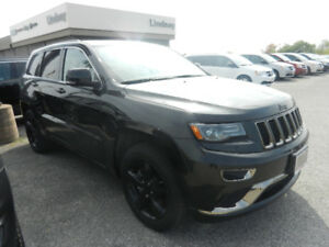 WHAT A DEAL! 2015 Jeep Grand Cherokee Overland Ecodiesel