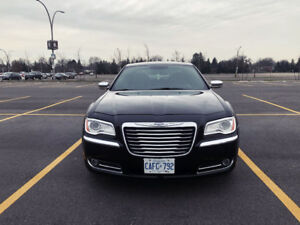 2012 Chrysler 300 Limited with winter tires
