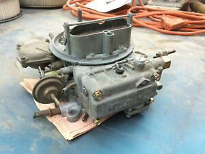 Rebuilt Holley 4166