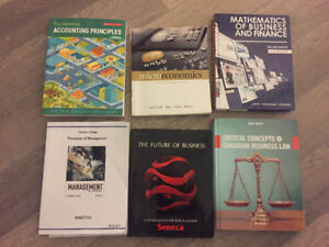 Humber college text books:business school