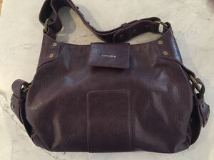 Samara by Matt and Nat eggplant colored purse