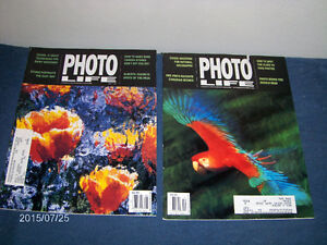 PHOTO LIFE MAGAZINE-2 BACK ISSUES-1995-PHOTOGRAPHY-CAMERAS