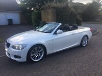Bmw 320d Msport E93 convertible (rare white) (2011) px welcome for audi bmw seat Mercedes