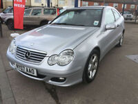 2007 Mercedes-Benz C220 2.1TD diesel automatic CDI SE 86,000 miles full history