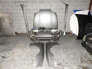 JDM Toyota Supra MK4 Veilside Front End Nose cut Front Mount Int