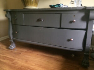 Refinished antique dresser