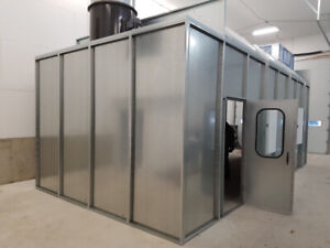 SPRAY BOOTH AND AIR MAKE-UP UNIT