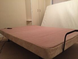 Craftmatic adjustable electric bed. Size - Double. £100 ovno.