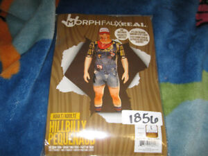 FAUX REAL HILLBILLY MORPHSUIT ADULT COSTUME