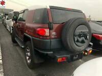 2011 (60) TOYOTA FJ CRUISE 4.0 V6 Auto Switchable 4WD DVD Grade 4 FRESH IMPORT