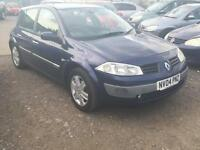 2004/04 Renault Megane 1.4 16v 98 Dynamique LONG MOT EXCELLENT RUNNER