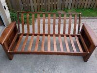 Wood Futon - $40 or $80