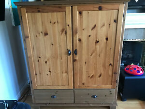 """Entertainment Unit - """"Billy"""" IKEA, solid maple"""