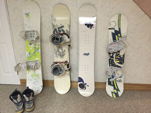 Snowboards & Boots For Sale