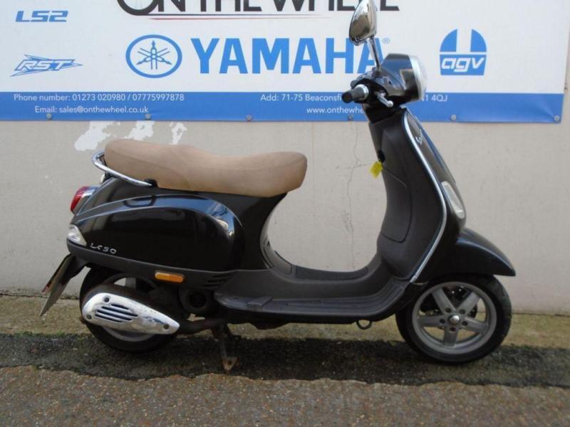 2010 PIAGGIO VESPA LX 50 BLACK/CHROME   in Brighton, East Sussex ...