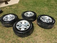 2008 20 inch GMC Rims and Tires