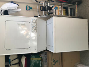 good condition washer and dryer for sale