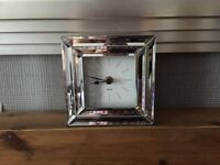 Square Mirrored clock