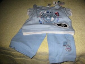 NEW size 3 months pants and top