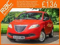 2014 Fiat 500 Chrysler Ypsilon 1.2 SE 5 Door 5 Speed Air Con Just 1 Private Owne