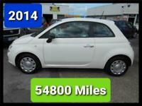 2014 FIAT 500 POP 54800 MILES