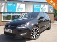 2013 Volkswagen Polo 1.2 ( 70ps ) 2013MY Match only 48,000 miles BLACK