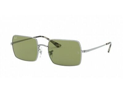 Ray-Ban Sunglasses RB1969 with. 91974E SILVER Silver, bottle green (Ray Ban Bottle Green)