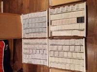 PLUS DE 476 SÉRIES DE CARTES DE HOCKEY MCDONALD'S + 780 INSERTS