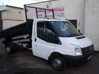 Ford Transit 2.2TDCi ( 100PS ) 350 DRW Steel Under Floor Tipper